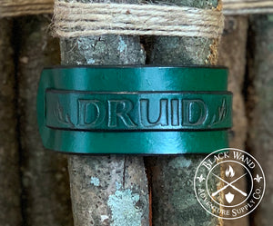 Druid's Leather Wrist Cuff