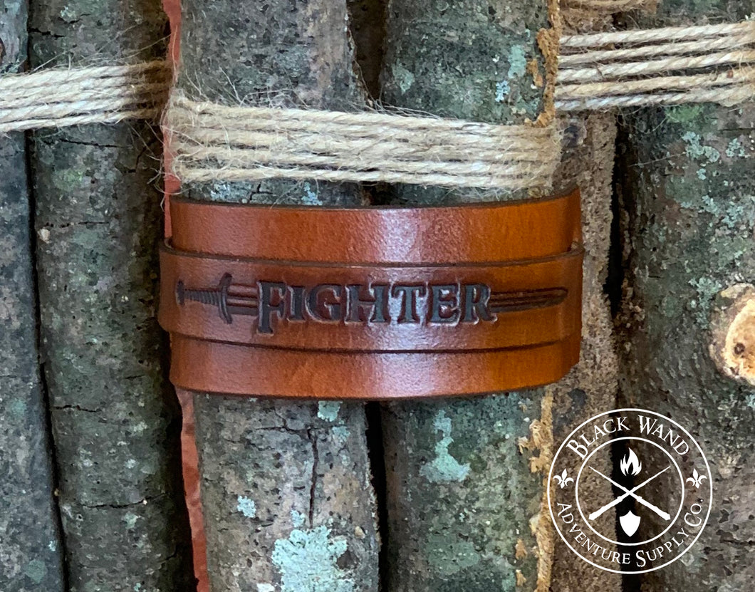 Fighter's Leather Wrist Cuff