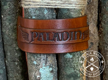 Load image into Gallery viewer, Paladin's Leather Wrist Cuff