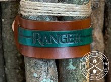 Load image into Gallery viewer, Ranger's Leather Wrist Cuff