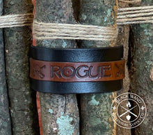 Load image into Gallery viewer, Rogue's Leather Wrist Cuff