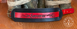 Sorcerer's Leather Wrist Cuff