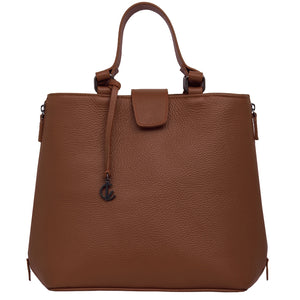 Handbag | Tote | Backpack | Brown |  100% Italian leather | Handcrafted | Greece |