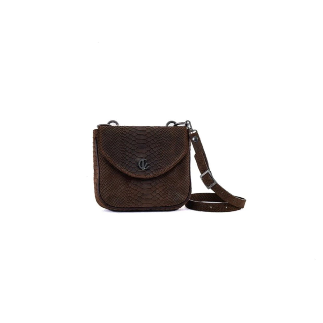 Handbag | Belt Bag | Shoulder Bag | Brown |  100% Italian leather | Handcrafted | Greece |