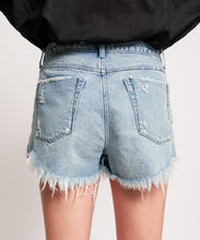 Load image into Gallery viewer, Outlaws Mid Length Denim Short - Sofie Grey