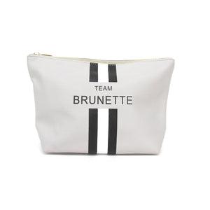 Team Brunette Pouch - Sofie Grey