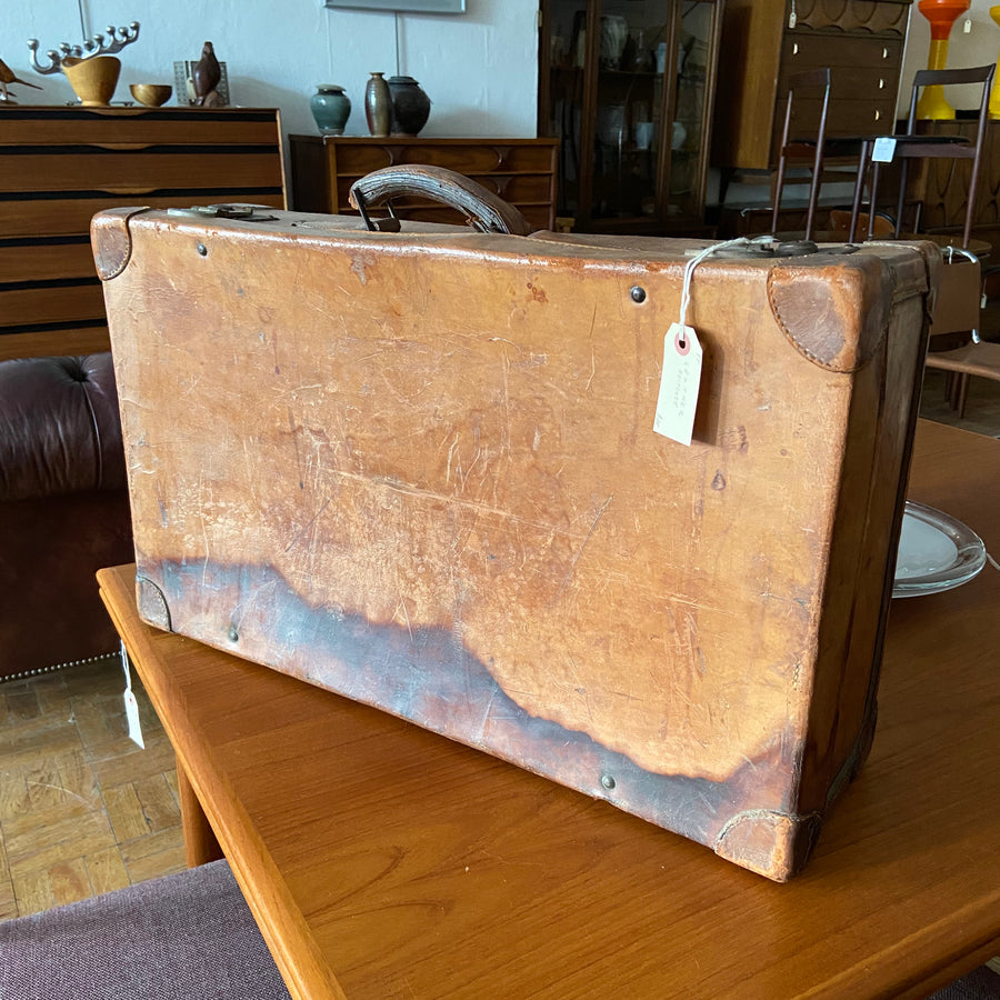 Smaller Leather Suitcase