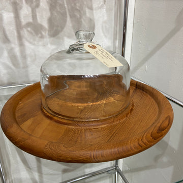 Goodwood Teak Cheese Board and Dome