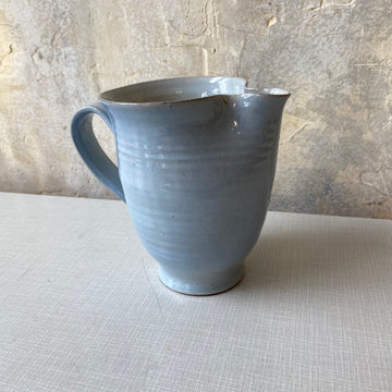 Blue Ed & Mary Scheier Pitcher