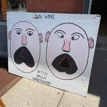 Bean Bag Game Sign