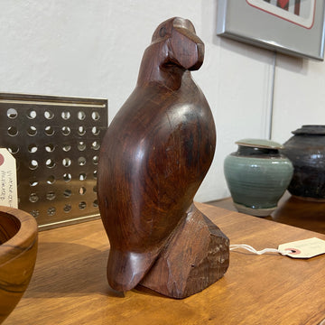 Wooden Bird Sculpture