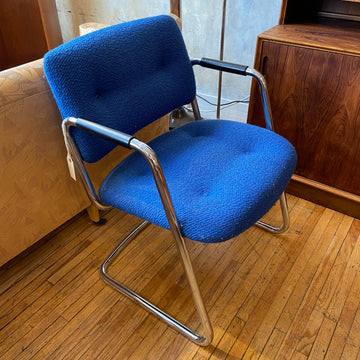 Blue Steelcase Chair