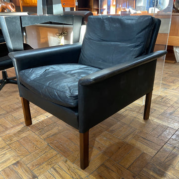 Leather Hans Olsen Lounge Chair