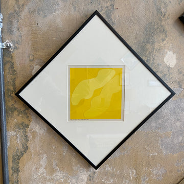 Robert Clark Nelson Pop Art Collage Study - Yellow/Yellow