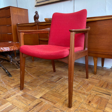 Sigvard Bernadotte Swedish Teak Side Chair
