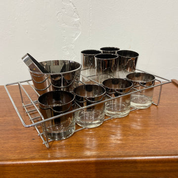 11 Piece QL Silver Fade Beverage Set
