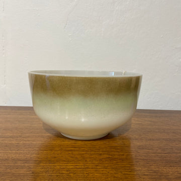 Federal Glass Mesa Moss Large Serving Bowl