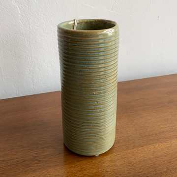 Stone Age Modern Seafoam Colored Vase