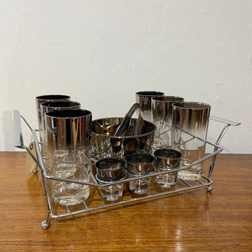 QL Silver Fade 15 Piece Cocktail Set