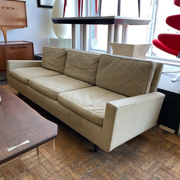 Florence Knoll Cream Colored Sofa