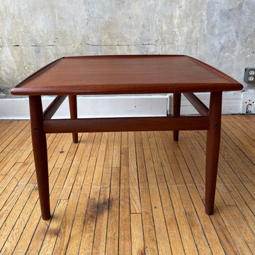Glostrup Teak Square Side Table