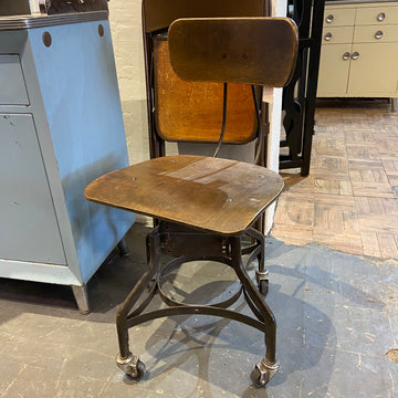 Industrial Stool on Casters