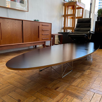 Eames Black Surfboard Coffee Table