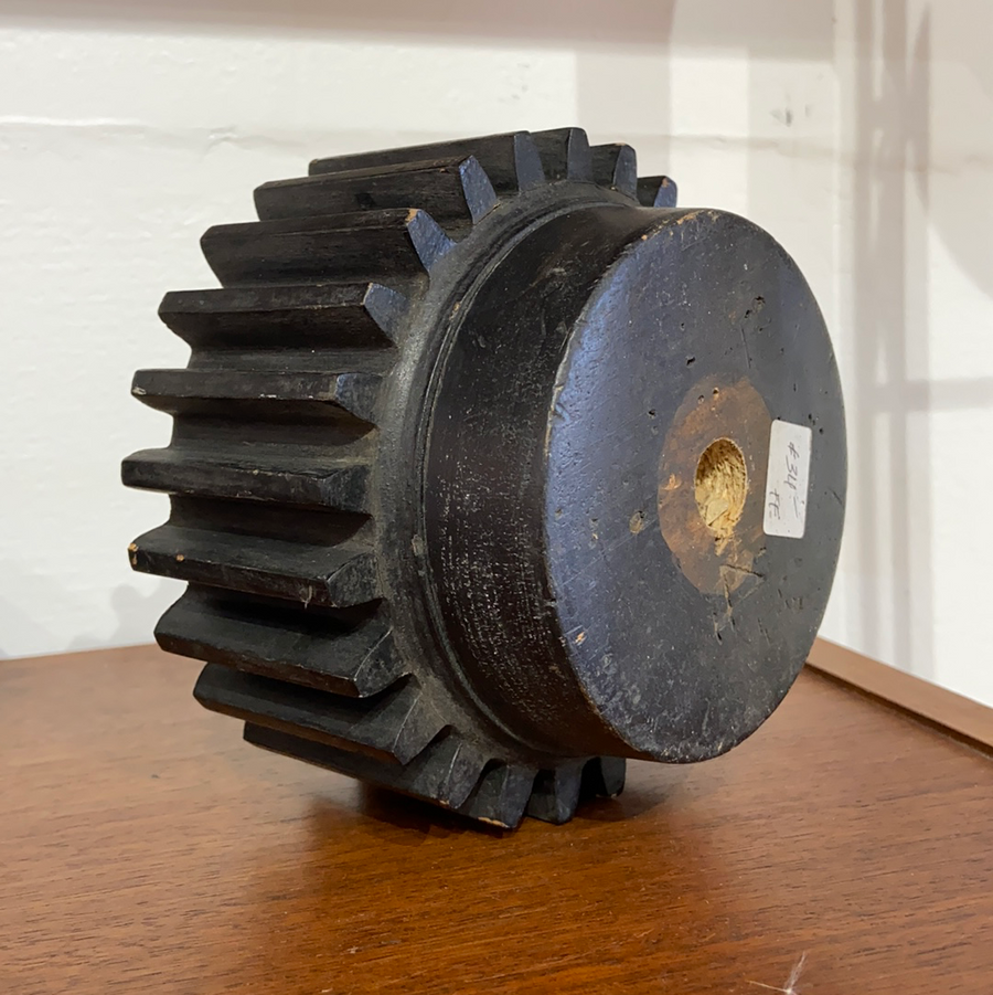 Large Wooden Cog