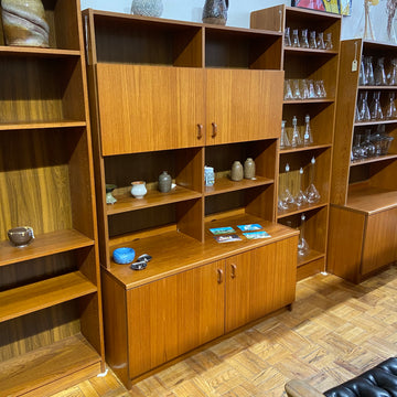 Teak Hutch/Shelf