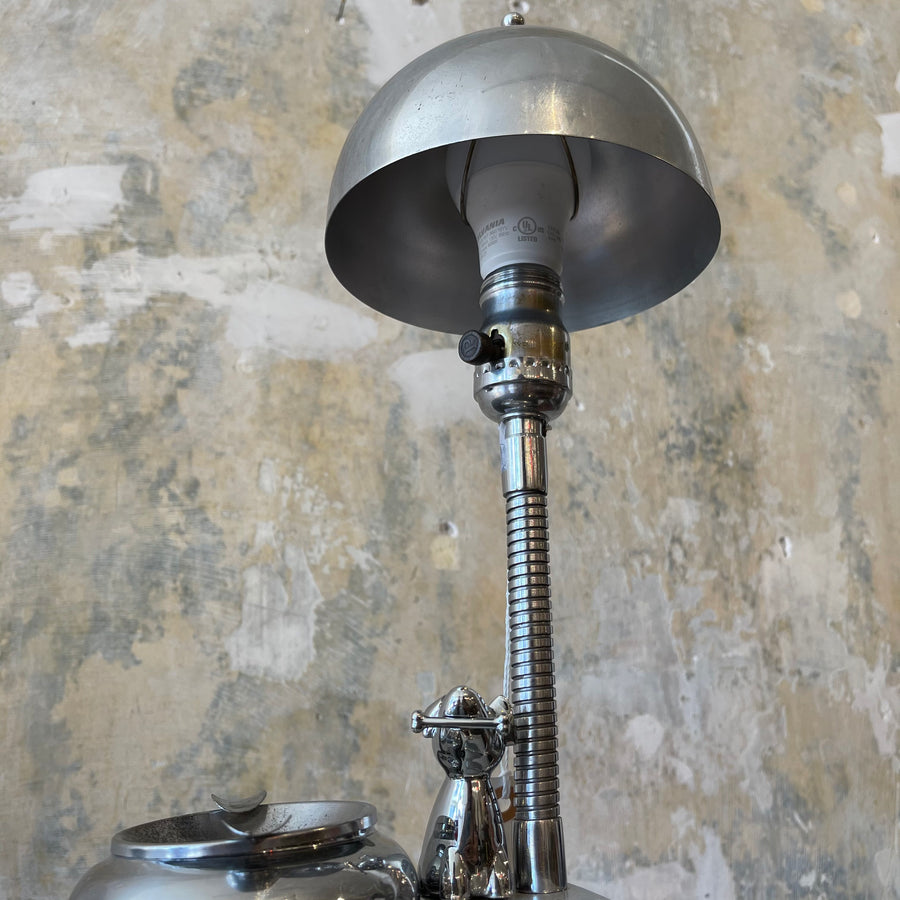 Chrome Deco Desk Lamp