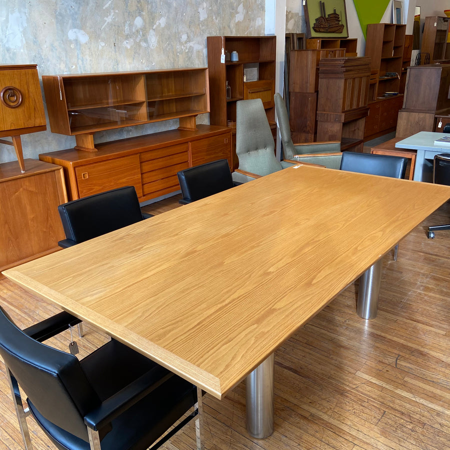 Oak Tuohy Dining/Conference Table