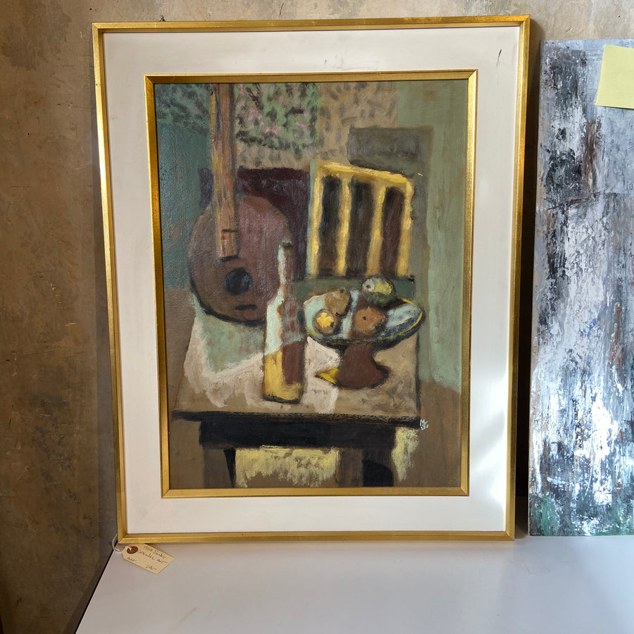 1954 Signed Still Life Painting