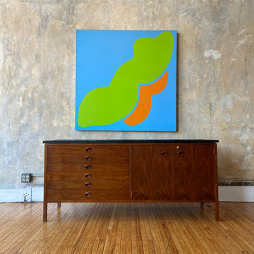 Dunbar Credenza with Slate Top