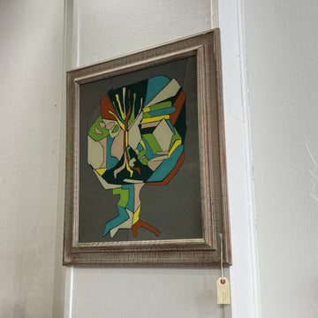 Mid-Century Signed Painting
