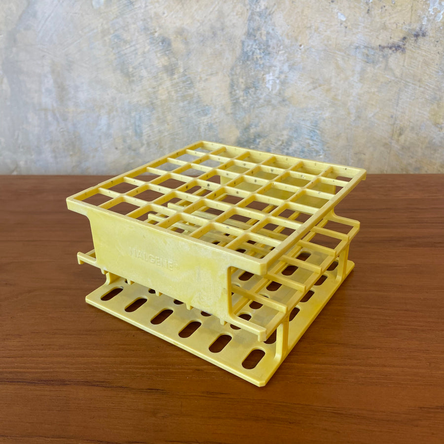Square Yellow Test Tube Holder