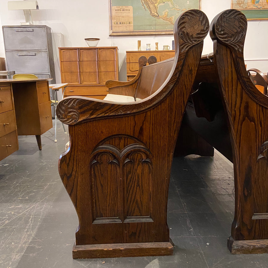 Gothic Church Pew