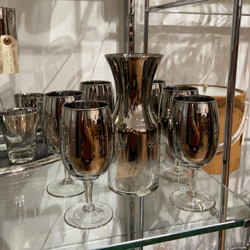 QL Silver Fade 7 Piece Wine Set