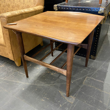 Bassett Walnut Side Table