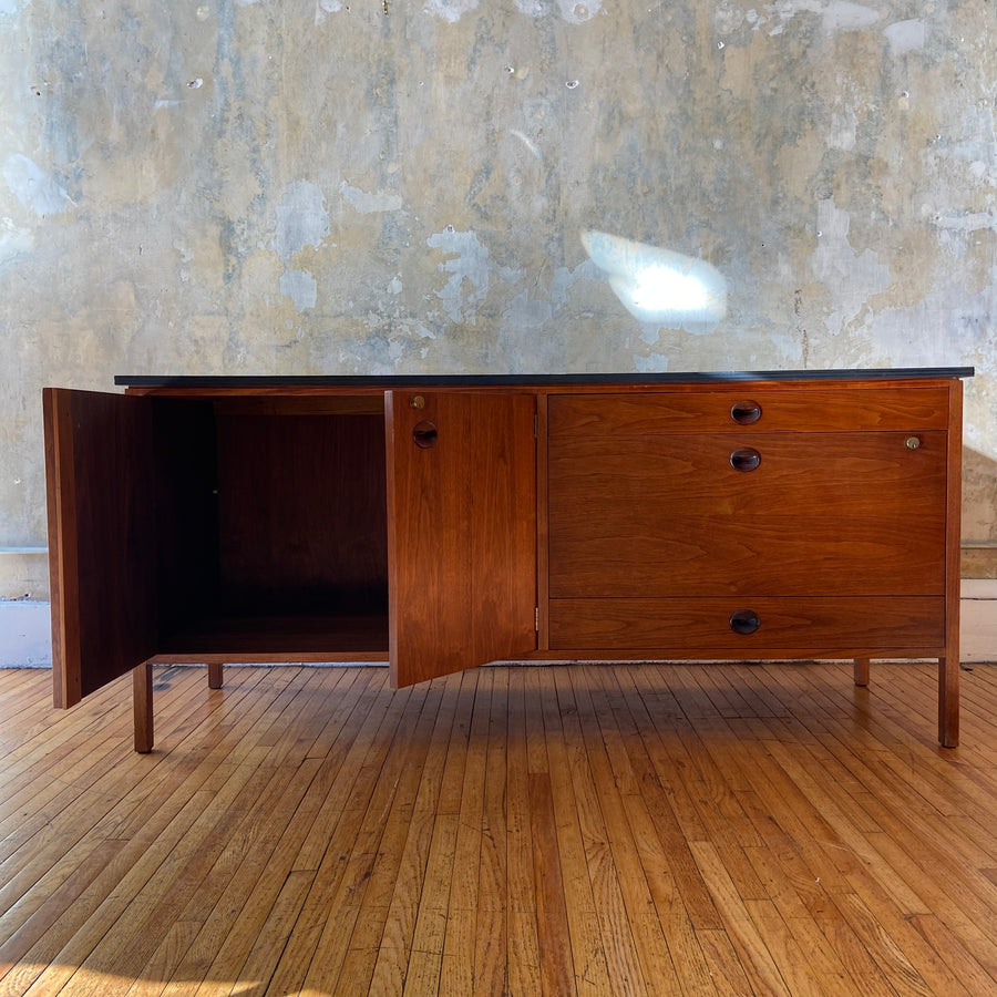 Dunbar Credenza with Wood Top