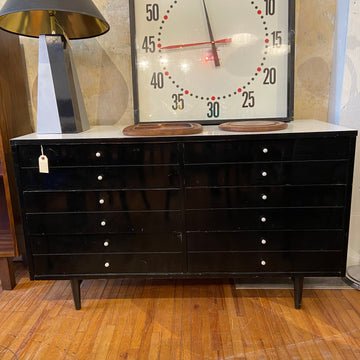Black & White Laminate Dresser