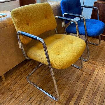 Yellow Steelcase Chair