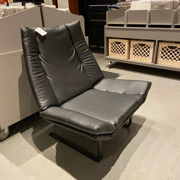 Vegan Leather Lounge Chair