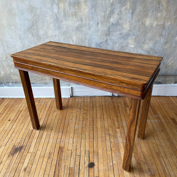 Rosewood Vintage Console Table