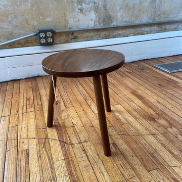 Early American Oak stool