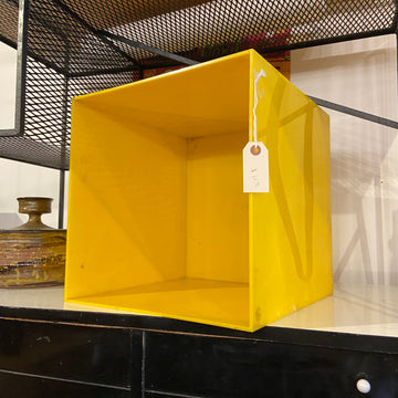 Yellow Storage Bin
