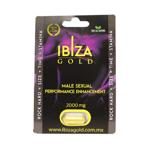 Vigorizante Sexual Masculino Ibiza Gold