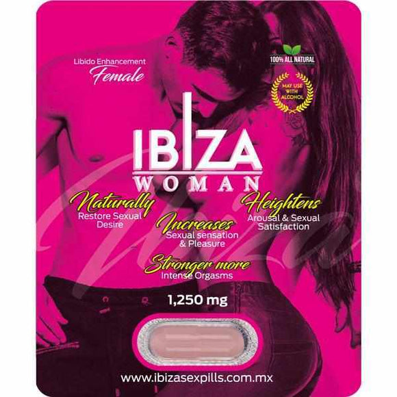 Estimulante Sexual Femenino Ibiza Woman