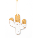 Speckled Cactus Ceramic Ornament - Good Spark