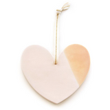 Ceramic Heart Ornament - Good Spark