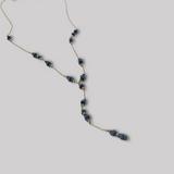 "Tessera Scatter ""Y"" Necklace - Good Spark"